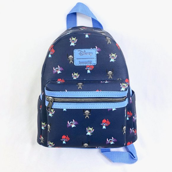 NWT Rare Loungefly Stitch Halloween Backpack